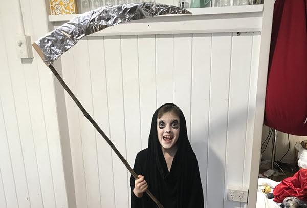grim reaper diy costume