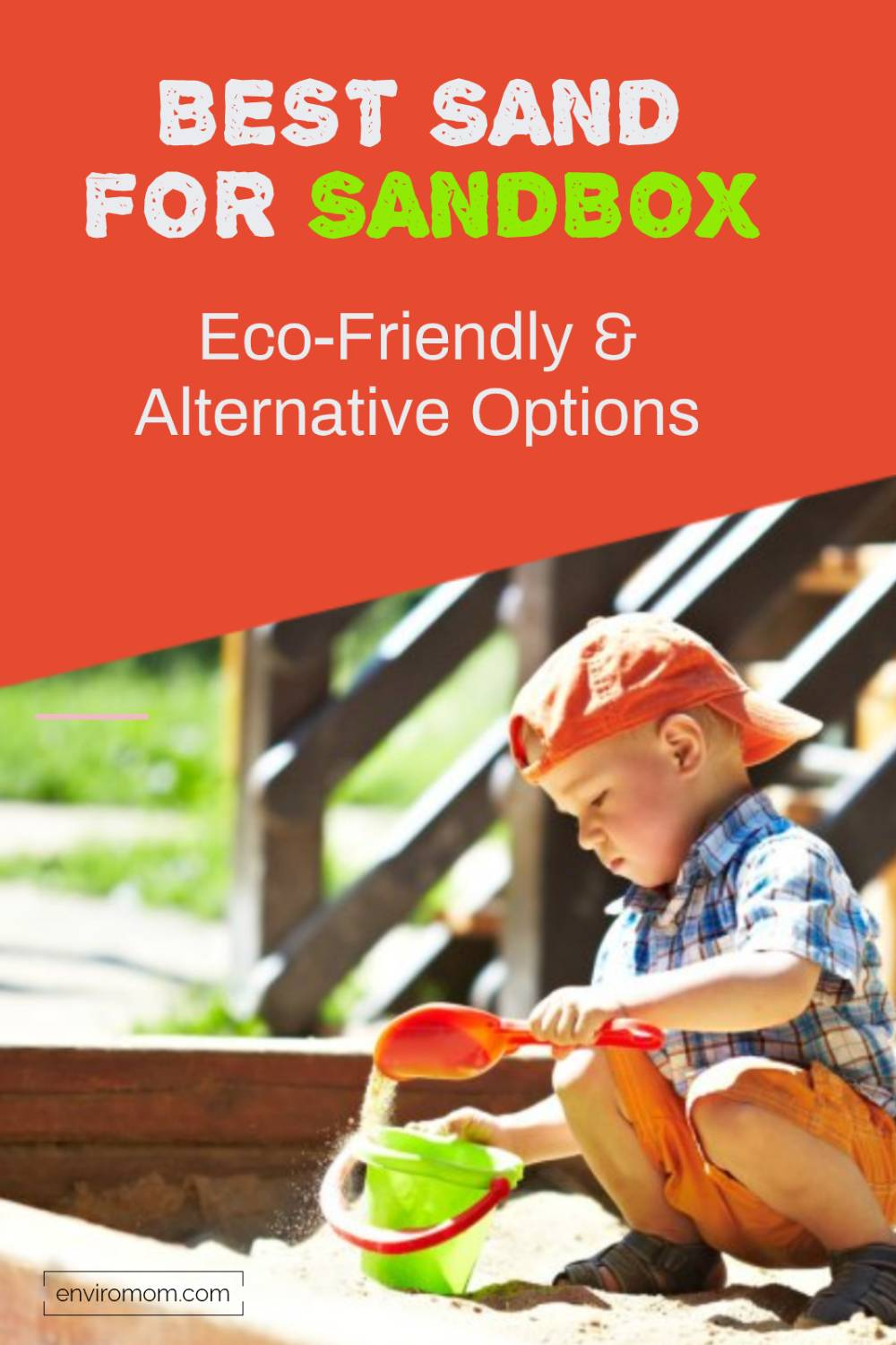 Find the best sand for sandbox that is safe and eco-friendly. Includes alternative to sand options that your kids will love to explore.