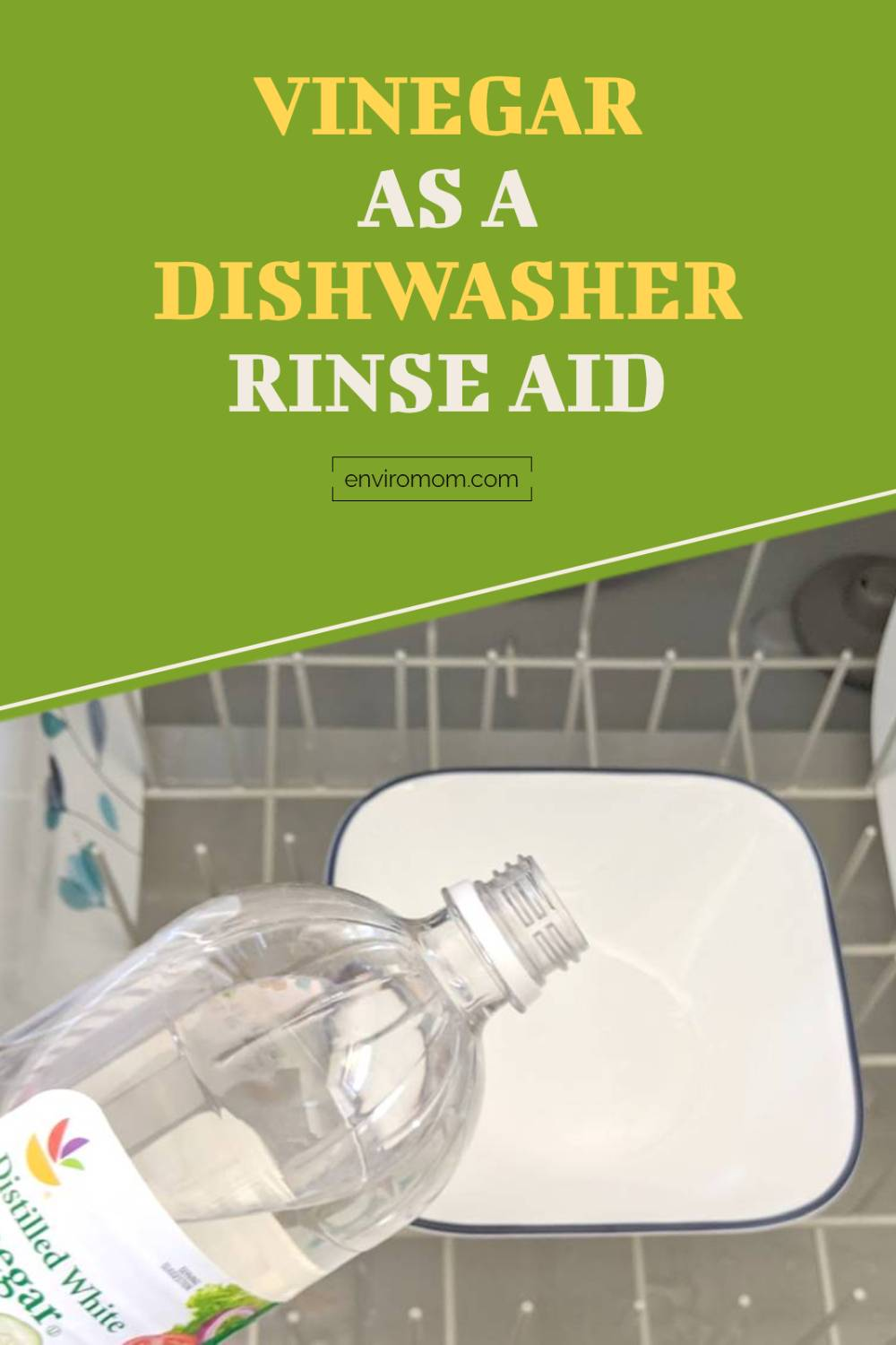 Everything you need to know about vinegar as a dishwasher rinse aid.