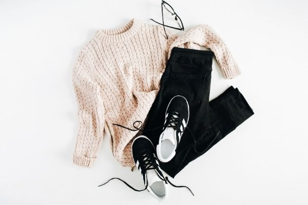 Brown cream and black fashion clothing