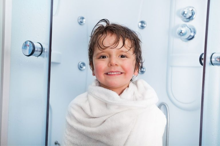 Baby Step: Teaching Kids to Take a 5-Minute Shower