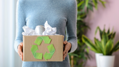 how to reduce trash at home
