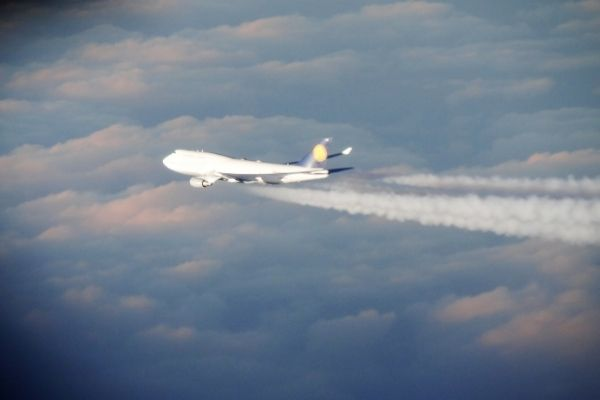 Flights generate greenhouse gases