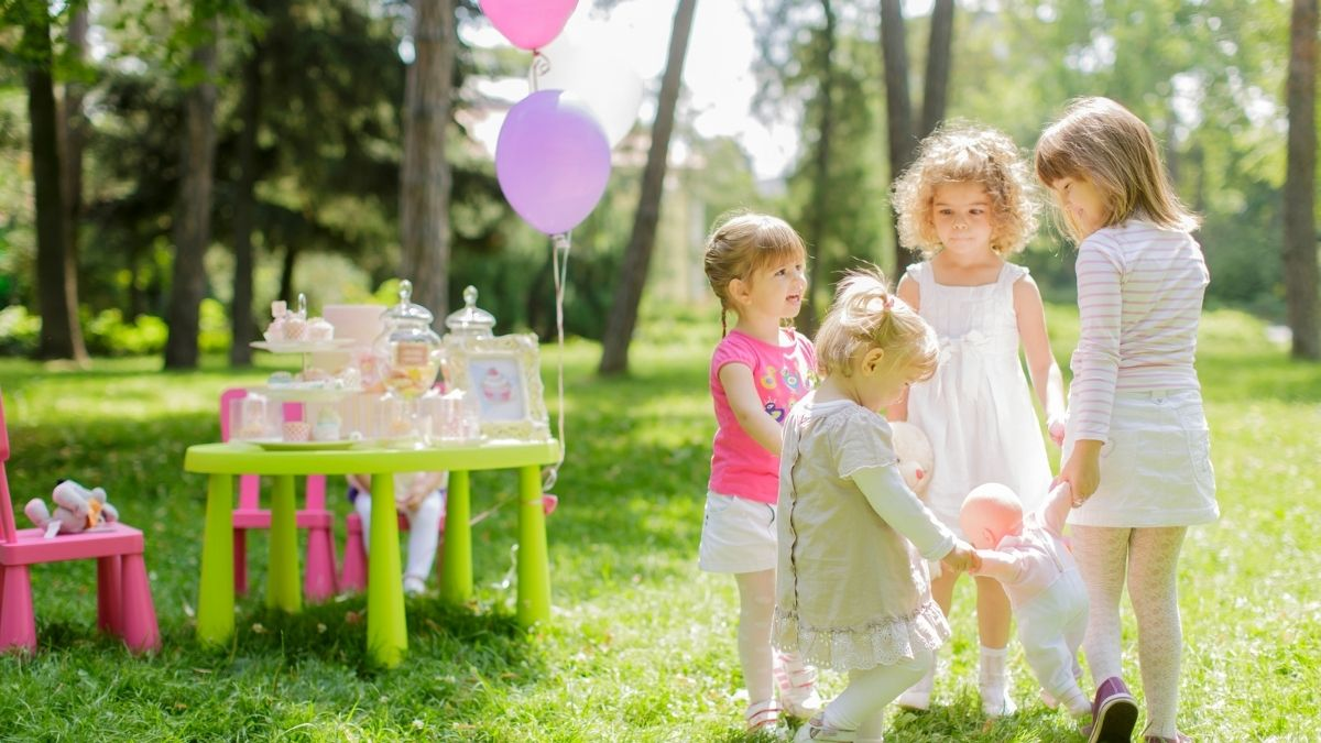 Green Birthday Party For Kids