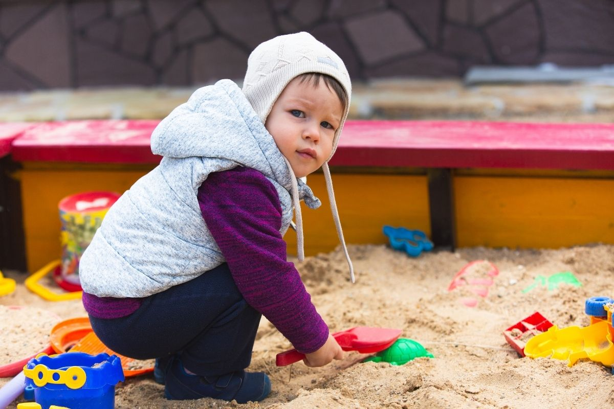 is masonry sand safe for sandboxes
