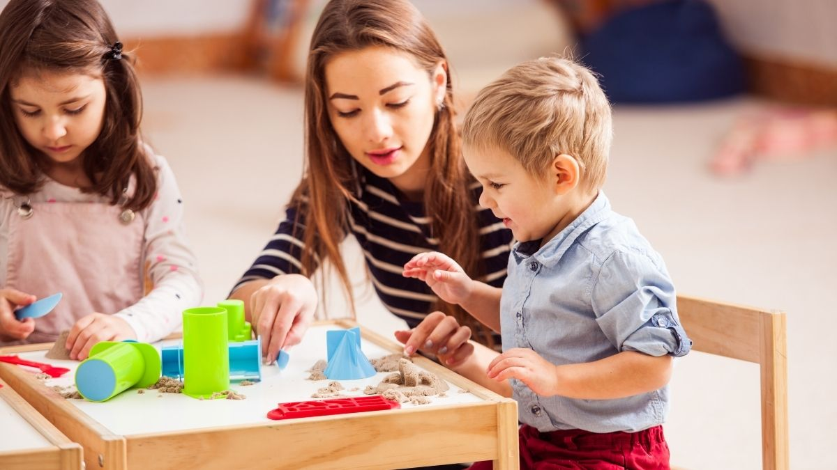 What Age Kids is Kinetic Sand Safe For?