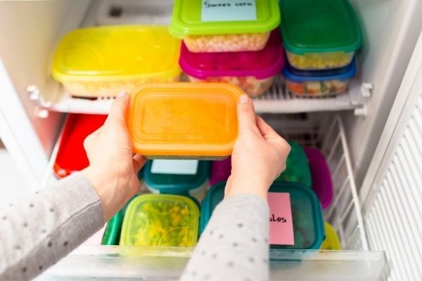 Stocking up your freezer is good for avoiding takeaway