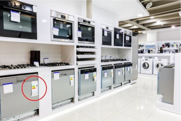 star rating for appliances