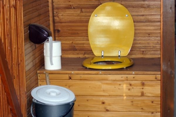 toilet with septic system
