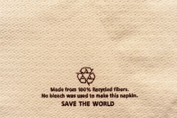 tissues are made from recycled fibers