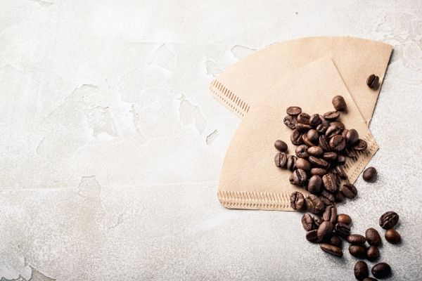 coffee ground and filters